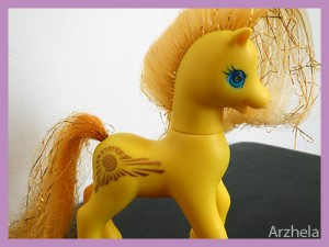 Mon Petit Poney G2 Princess Golden Light Princesse Lumière 2000