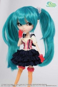Pullip de 2011 Miku Hatsune LOL version