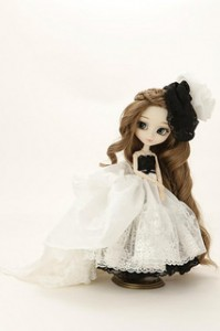 Pullip Yuri Pure White and Jet Black 2013