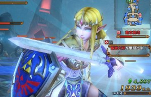 Hyrule Warriors Glitch Zelda