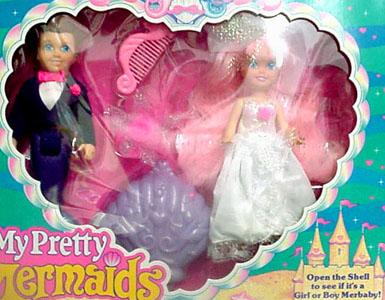 Dolls Seaside Wedding
