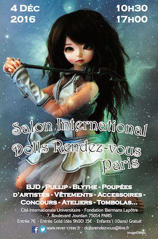 Flyer Doll Rendez-vous in Paris 2016