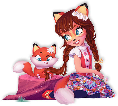 Enchantimals Fox