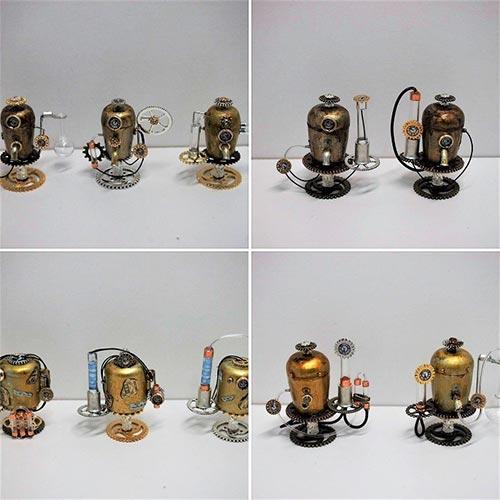 Reservoir Alchimiste Steampunk