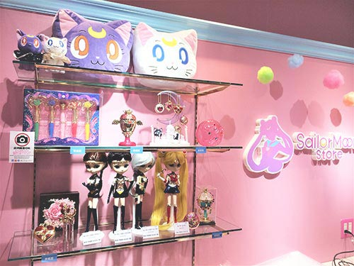 Sailor Moon Store items