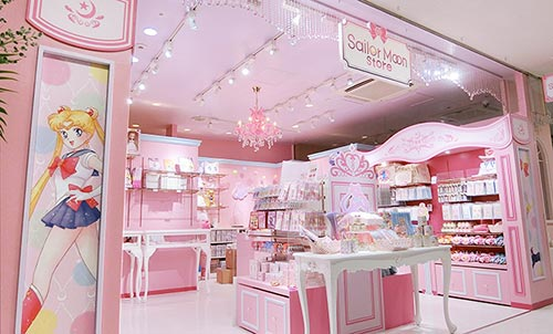 Sailor Moon Store pink