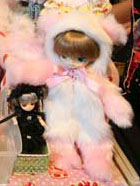 Prototype Dal White And Pink Bear 2009