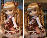 Prototype Pullip Brown Lolita Fair Hair 2009