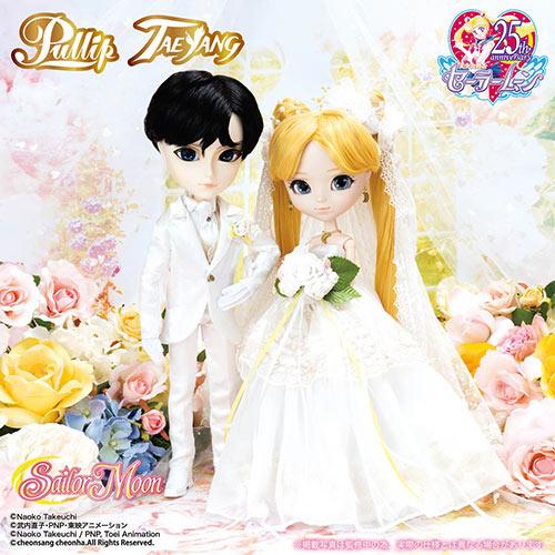 Pullip Usagi Tsukino Taeyang Mamoru Chiba Wedding version