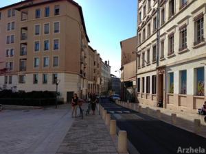 Pentes de la croix rousse Lyon 2014