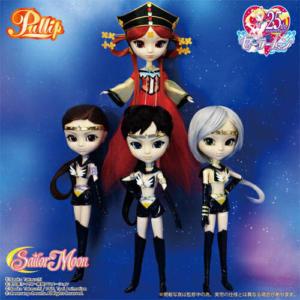 Pullip Princess Kakyu and Sailor Starlights